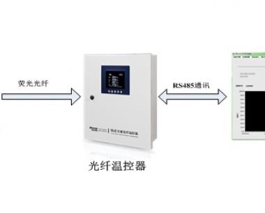 干式变压器荧光式光纤温控器