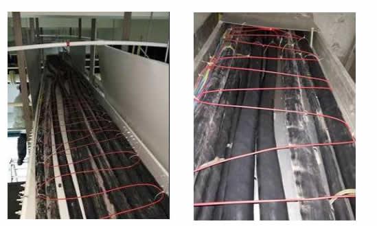电缆桥架光纤测温
